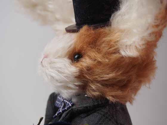 コンテストno.001 紳士ウサギ 横顔