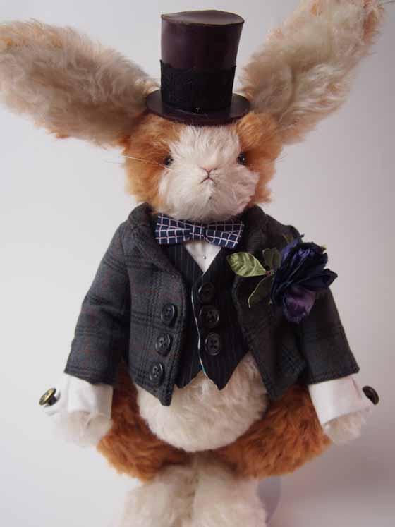 コンテストno.001 紳士ウサギ 全体