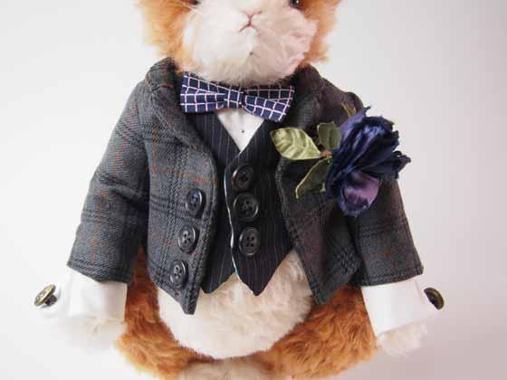 コンテストno.001 紳士ウサギ 服