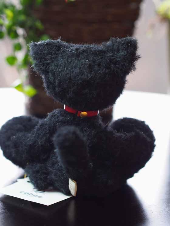 作品no.0008 18cm黒猫 後ろ