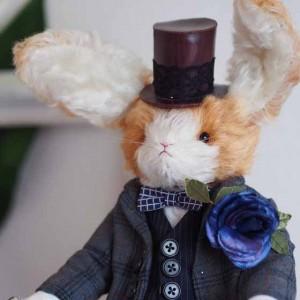 コンテストno.001 紳士ウサギ アイキャッチ