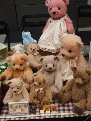 Coo's Bear 松本さんの展示